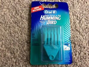 Braun Oral-B Humming bird Power Flosser Pick Refills 25 Refill pack NEW SEALED
