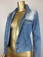 SPORTSGIRL JACKET BLUE DENIM JEANS JACKET COAT TOP - 100% COTTON - 6 SMALL