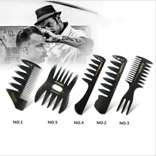 Men's Professional Hair Styling Wide-Tooth Comb Salon Hairdressing Combs Tools