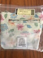 Longaberger Small Serving Basket Liner in Floral Blooms #23567286 NEW