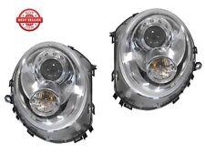 2008-2014 MINI Cooper R56 R57 R55 Euro JCW Projector Headlight Clubman - CHROME