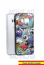 Funda antigolpes carcasa gel/ TPU  Samsung G950 Galaxy S8 dibujos animados comic