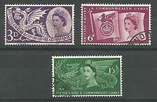 Olympics Used Great Britain Commemorative Stamps