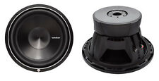 "2) NEW ROCKFORD FOSGATE P3D4-12 12"" 2400 Watt 4-Ohm DVC Car Audio Subwoofer Sub"