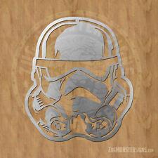 Storm Trooper Metal Wall Art Sign