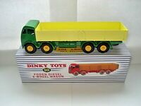 Atlas Dinky Supertoys 901 Green + Yellow Foden 8 x Wheel Wagon Mint/Boxed