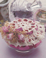 Crochet Pattern ~ Potpourri Jar Doily ~ Instructions
