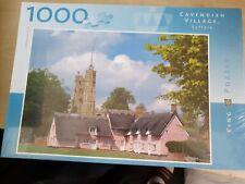 Cavendish Village, Suffolk 1000 Piece Jigsaw King Puzzles Brand New & Sealed
