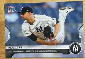 2021 Topps Now Michael King #306