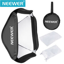 """Neewer 24x24"""" Collapsible S-Type Softbox with Foldable Diffuser for Studio Flash"""