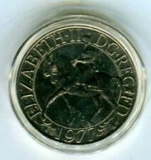 1977 Commemorative Coin Queen Elizabeth 11 Silver Jubilee British UK Coin