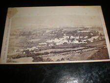 Cdv old photograph Porlock from the hills by Francis Frith c1870s