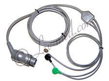 ECG Moniteur-Complet Câble - 3-Brins-corometrics - 3-Wire-ECG-Cable