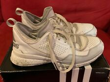 outlet store 09597 4bb5f Adidas Damian Lillard 1 Size 12 White silver Used