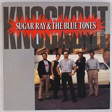 SUGAR RAY & THE BLUE TONES: Knockout '89 Varrick Blues Vinyl LP NM-