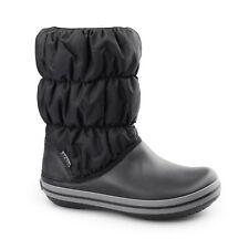 b48bf343228b Crocs 14614 Winter Puff Boot Womens Black charcoal 4 UK (see Size Guide)