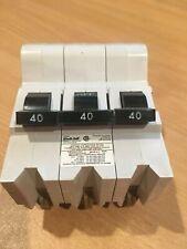 FEDERAL PIONEER NA3P40 40A 240VAC 3P BREAKER NEW IN BOX