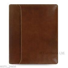 Filofax A5 Size Lockwood Leather Zipped Organiser - Cognac Brown (021693)