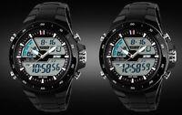 Hot Sale Analogue & Digital 5ATM Date Chronograph Mens Women Luxury SKMEI Watch