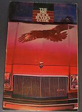 1985 Buick Brochure Regal Grand National Riviera Century Skylark LeSabre Electra