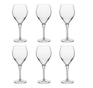 Luigi Bormioli Prestige Riesling Wine Glasses Set of 6 Made in Italy RRP $74.95