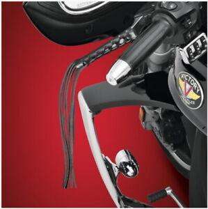"""Kawasaki Vulcan 800 900 1700 - Clutch & Brake Lever Leather Fringe/Tassels 12"""""""