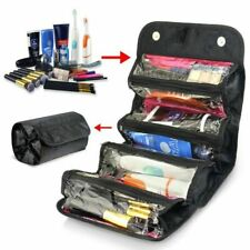 New Travel Cosmetic Makeup Bag Toiletry Hanging Zip Organizer Storage Case Pouch