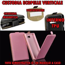 Custodia in Ecopelle verticale Flip con cover TPU per IPHONE 6/6S Colore ROSA