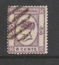 1894 LABUAN 8c Bright-Mauve LITHO Sg-53