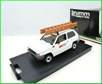 Model Car Fiat Panda Sip Van Brumm Scale 1/43 diecast Commercial