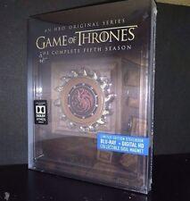Game of Thrones Season 5 Blu-ray Steelbook w/Collectible Magnet [Fifth Season]
