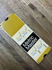 Perrygraf Metric Master Slide Rule 1974