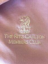Ritz Carlton Members Club Medium Golf Polo VGUC Dunning Golf brand Lavender EUC