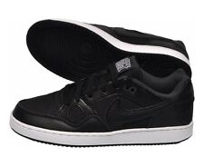 New Nike Son of Force Mens Leather Trainers  Black / White