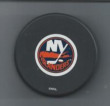 N.Y. Islanders  2-Lot  Souvenir 1996 die-cast Zamboni & Logo Hockey Puck