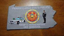 PENNSYLVANIA STATE POLICE TROOP E HEADQUARTERS ERIE BARRACKS STATE TROOPER