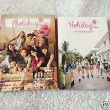 SNSD GIRLS' GENERATION  Japan 1st Official Photo Book Holiday from Japan F/S