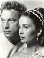 Richard Burton & Jean Simmons #418 8x10 B&W Photo Stunning Movie Still Portrait