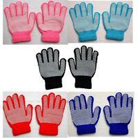Kids Winter Warm Magic Gripper Grip Gloves