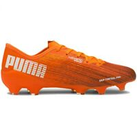 Chaussures de football Puma Ultra 2.1 Fg Ag M 106080 01 orange multicolore