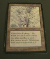 1x Glacial Chasm, HP, Ice Age, EDH Commander Legacy Upkeep Land Prevent Damage