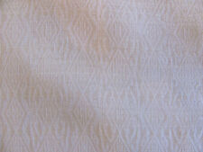 """Luxurious Soie De Lune Fabric """"ORCHID"""" in White 7+ Yards 100% Raw Silk Sheer"""