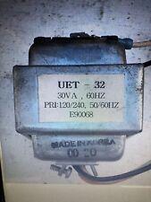 Uet -32 Transformer 120/240 Volt In 32volts Out