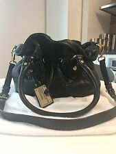 Marc by Marc Jacobs Classic Q Drawstring Cross Body Bag Black