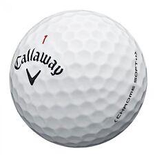 24 TRULY Mint 5A Callaway Chrome Soft 2016/2017 Golf Balls
