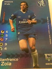 FOOTBALL CHAMPIONS CARD 2002-03 -Chelsea- Gianfranco Zola- FOIL