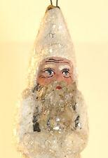 SANTA CLAUS Baumschmuck NIKOLAUS Weihnachtsmann Masse/Dresdner Pappe um 1910 #9