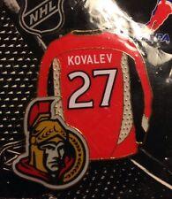 NHL Ottawa Senators Alex Kovalev Jersey Lapel, Pin, Badge, NEW, JF SPORTS