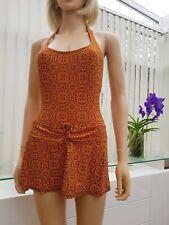 DKNY Genuine Designer Swim dress Skirt Swimwear Swimsuit Bathing Suite UK10 (29