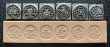 Military Leather Stamp Set Army Navy Air Force Marines Space Force Coast Guard